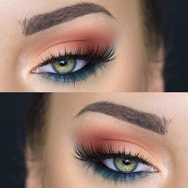makeup for green eyes 12