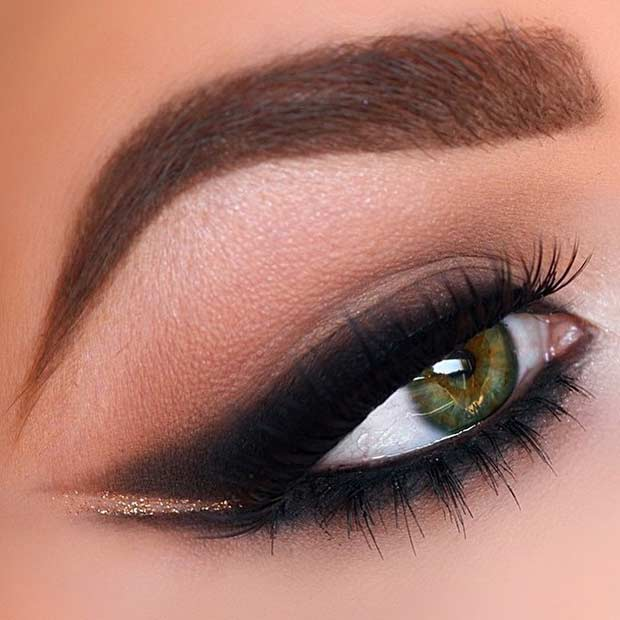 makeup for green eyes 16