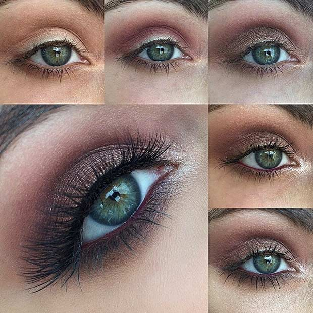 makeup for green eyes 20