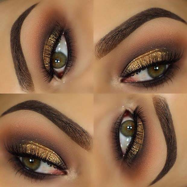 makeup for green eyes 21