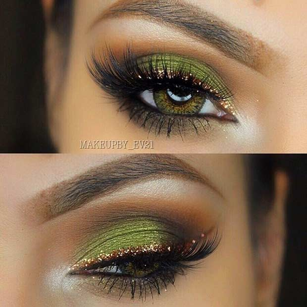 makeup for green eyes 29