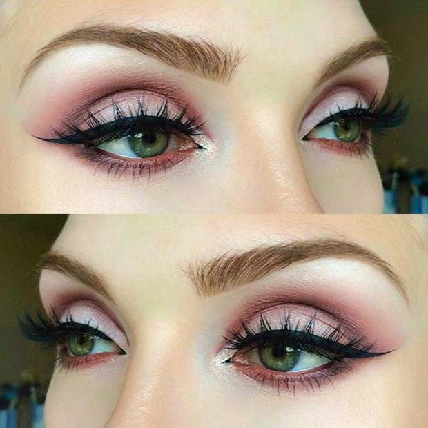 makeup for green eyes 30