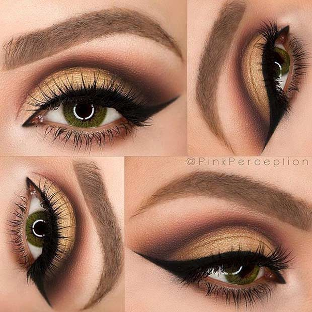 makeup for green eyes 6