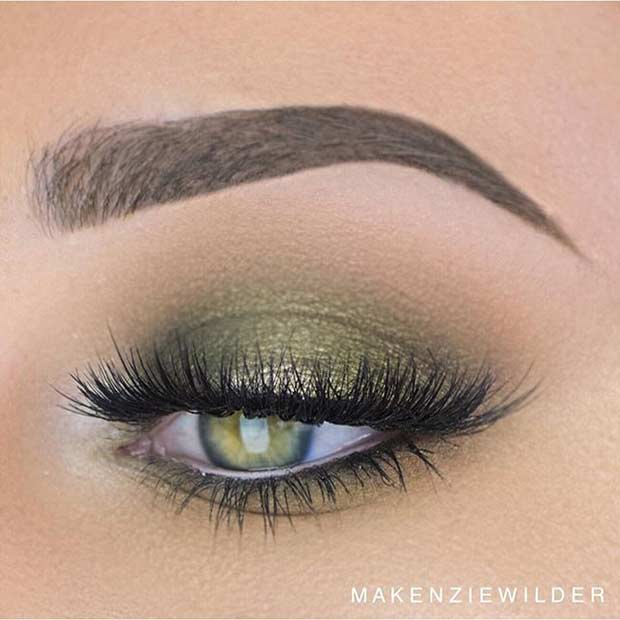 makeup for green eyes 8