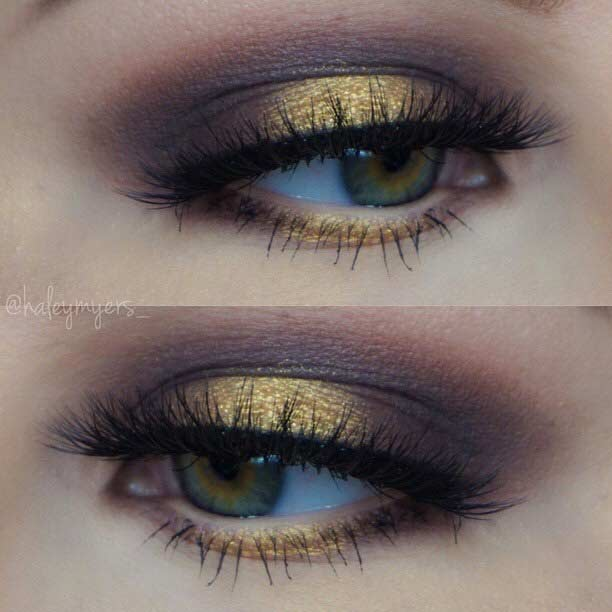 makeup for green eyes 9