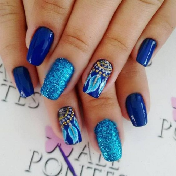 nautical nail design 10