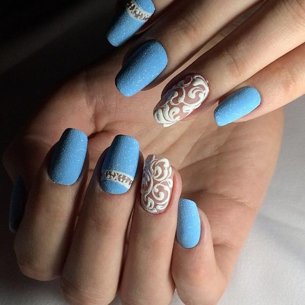 nautical nail design 13