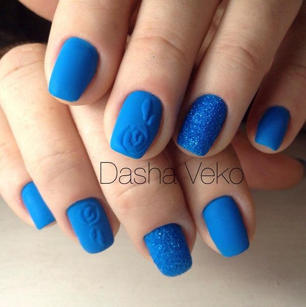 nautical nail design 19