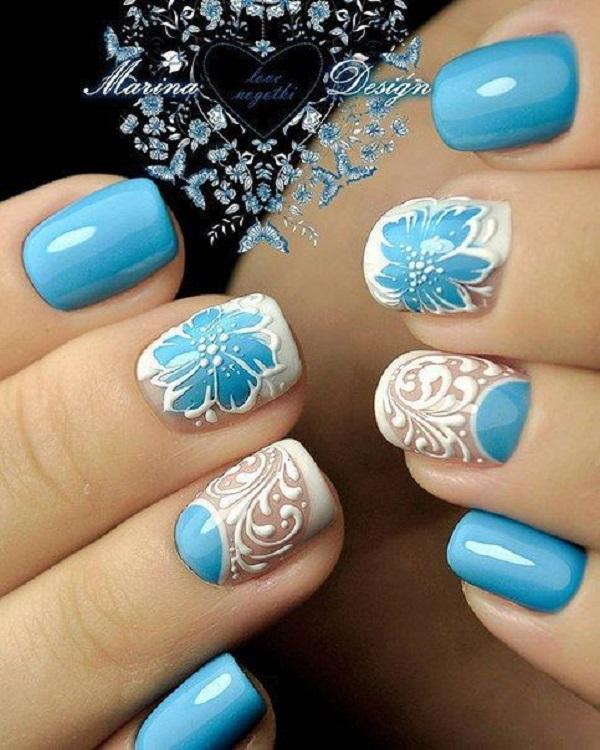 nautical nail design 20