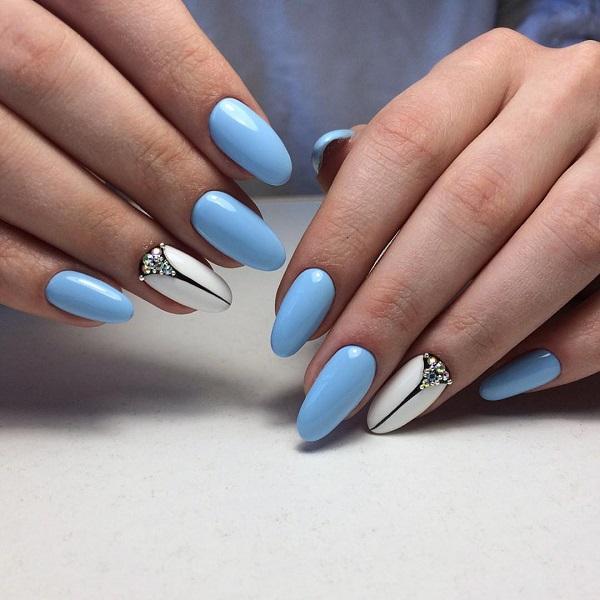 nautical nail design 22