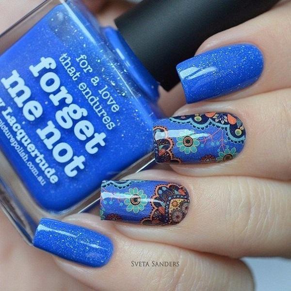 nautical nail design 26