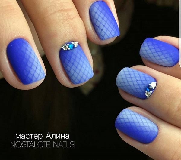 nautical nail design 7