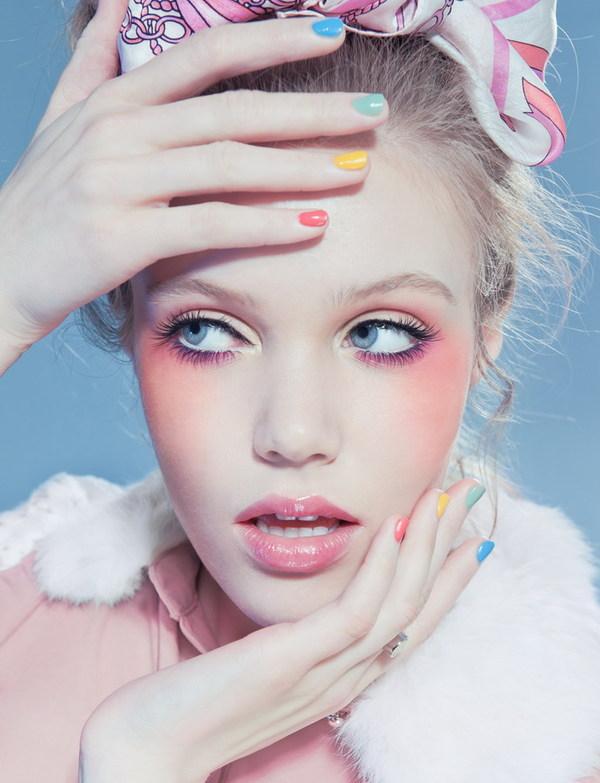 pastel makeup 13