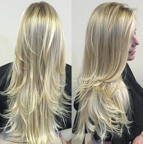 platinum blonde layers