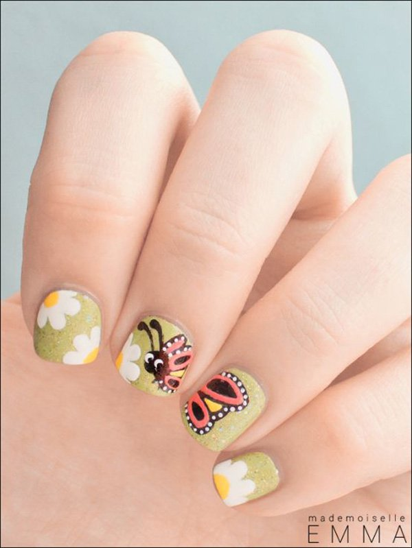 25 + Short Nail Designs That Are Perfect For Spring And Summer