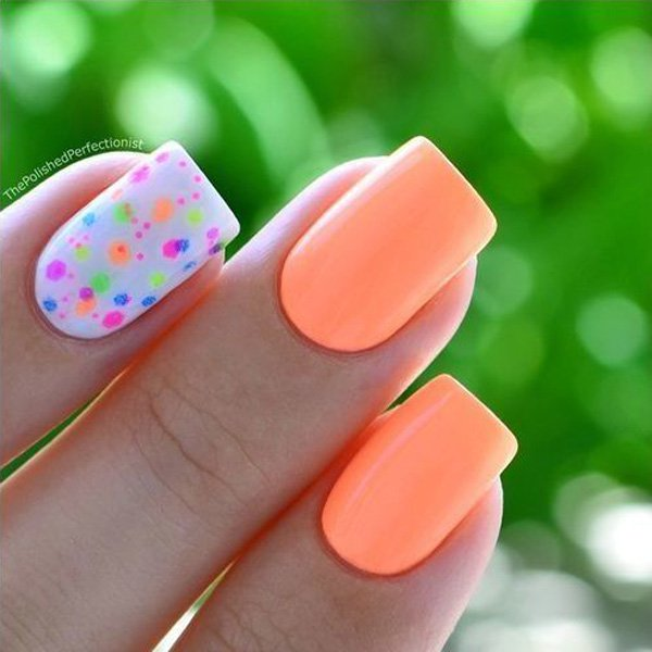 Spring Nail Art: 25 + Short Nail Designs That Are Perfect For Spring And Summer