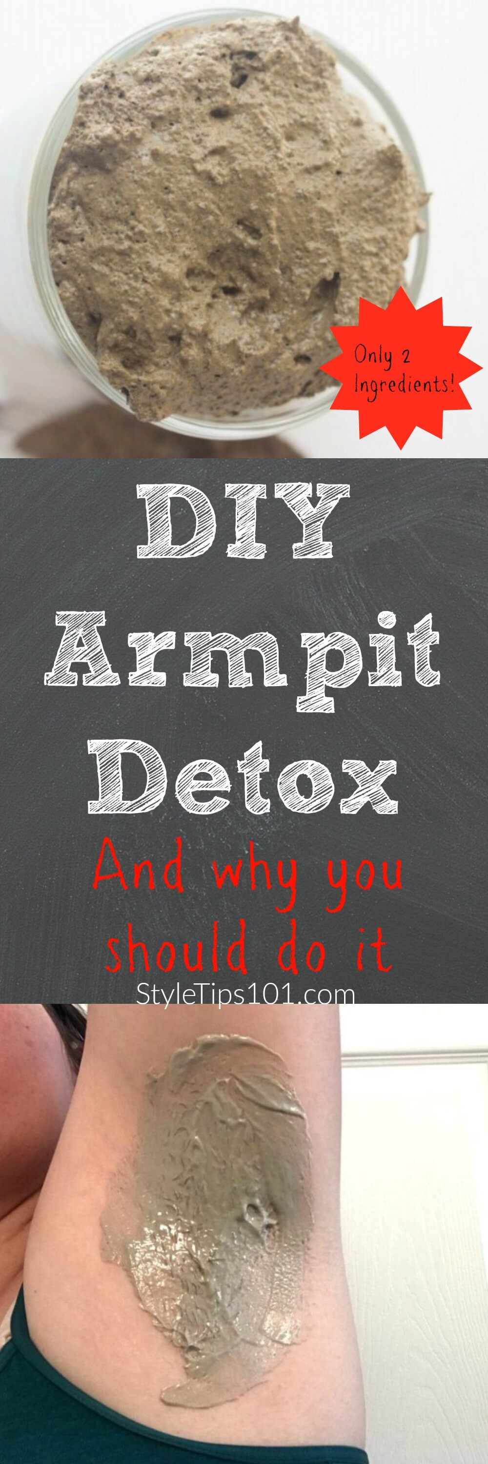 DIY Armpit Detox and Why You Should Do It