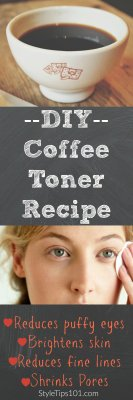 DIY Coffee Toner