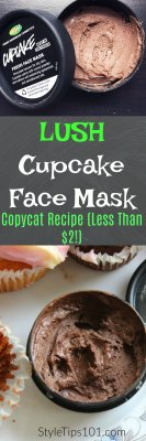 DIY Lush Cupcake Face Mask