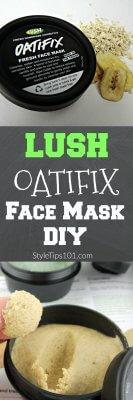 DIY Lush Oatifix mask