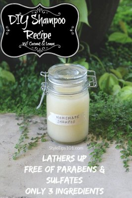 DIY Shampoo Recipe