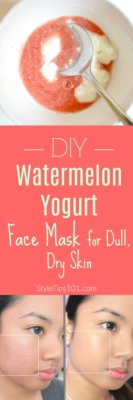 DIY Watermelon Face Mask