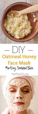 Honey Oatmeal Face Mask
