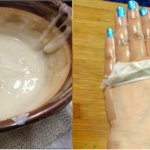 DIY Peel Off Hand Mask For Younger Looking Hands