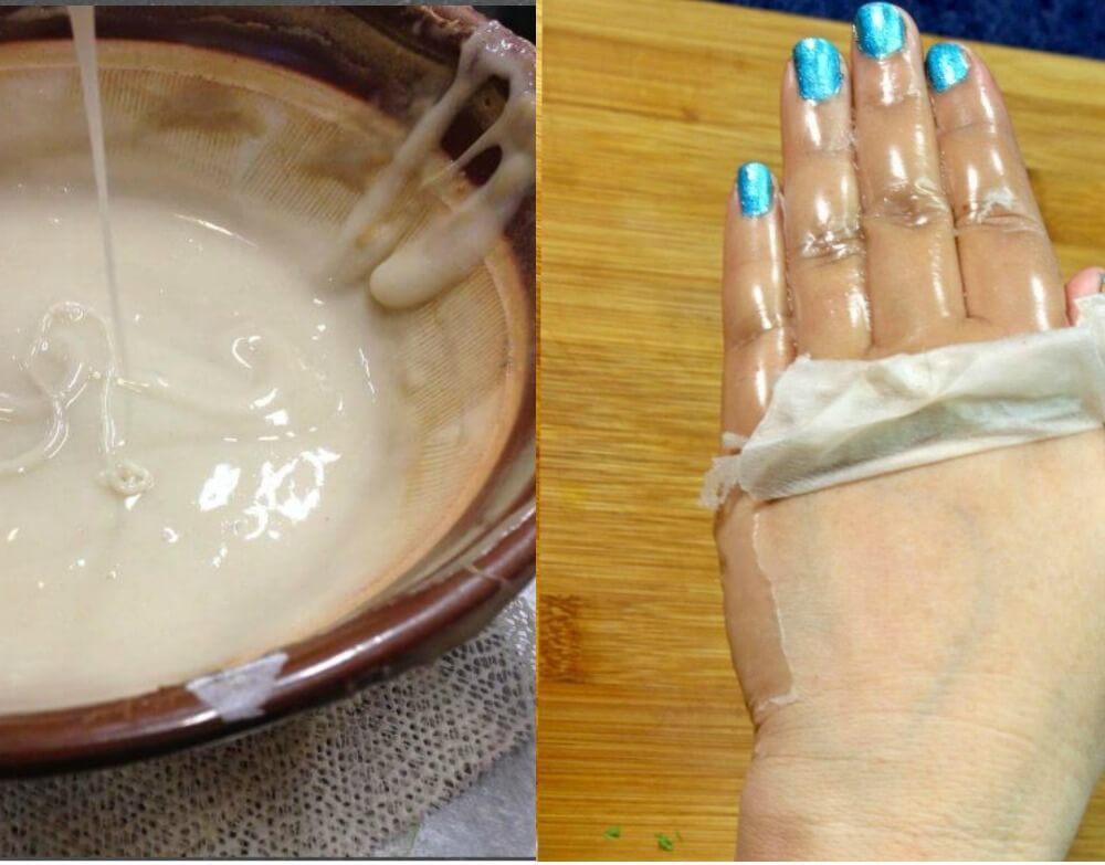 Diy Peel Hand Mask Younger Looking Hands