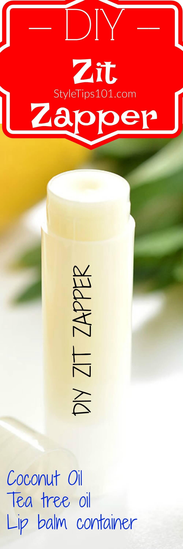 1/8 cup coconut oil 5-7 drops tea tree oil lip balm tube