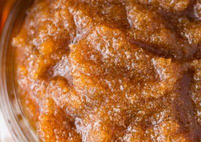 maple sugar scrub