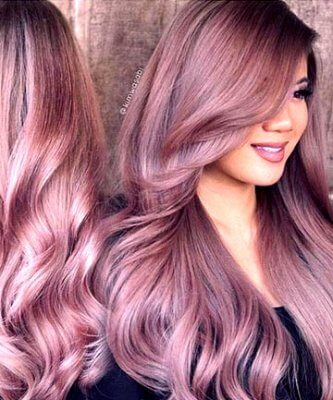 rose gold hair 10