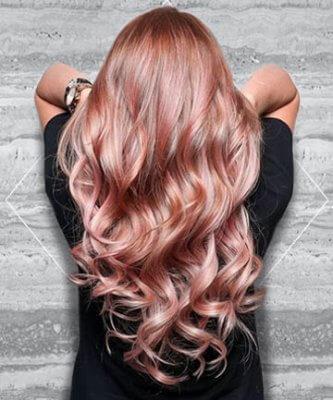 rose gold hair 14