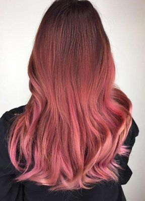 rose gold hair 15