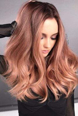 rose gold hair 16