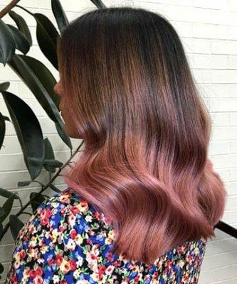 rose gold hair 2