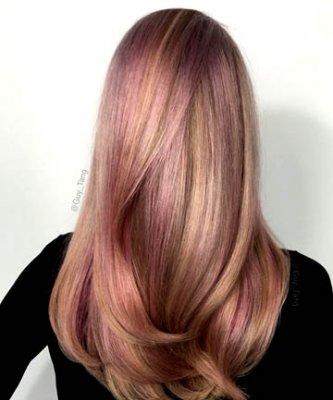 rose gold hair 6