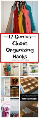 Closet Organizing Hacks