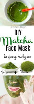 DIY Matcha Mask