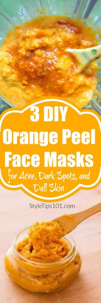 DIY Orange Peel Face Masks