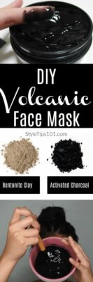 DIY Volcanic Face Mask