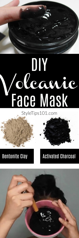 1 tbsp activated charcoal 1 tbsp bentonite clay a few drops of tea tree oil 1/4 cup water