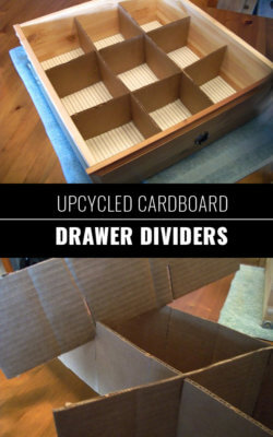 cardboard drawer dividers