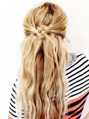 celtic knot hair