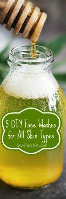 face wash recipes