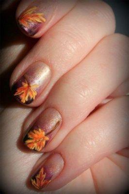 fall nail designs 25