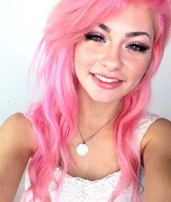 pink hair 14