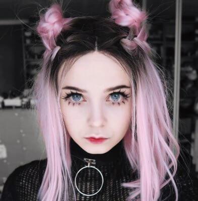 pink hair 15