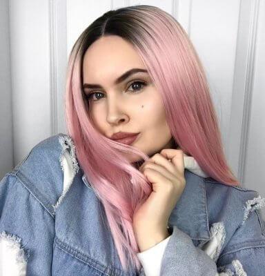 pink hair 16