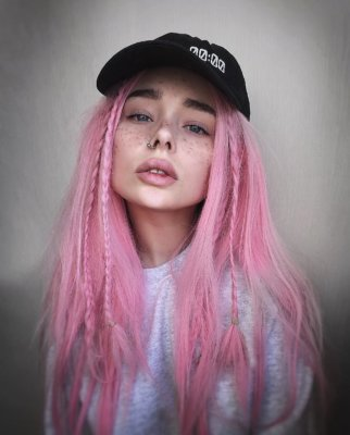 pink hair 20